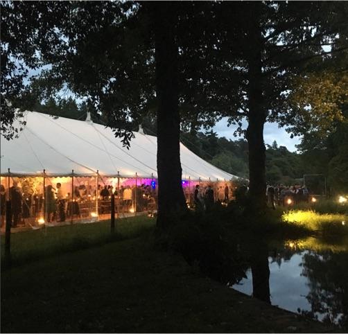 Roverwood Lakes night